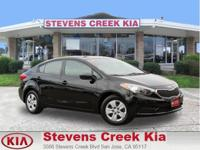 Options:  2014 Kia Forte Lx Sedan|Black|4-Cyl 1.8