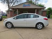 2014 Kia Forte LX  Options:  Fuel Consumption: City: 25