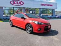 New Price! Clean CARFAX. Certified. Racing Red 2014 Kia