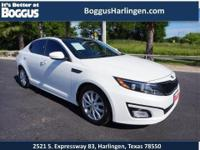 This 2014 Kia Optima EX comes equipped with everything