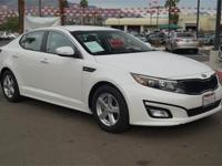 1 OWNER and CLEAN AUTOCHECK. Optima LX, 4D Sedan, and