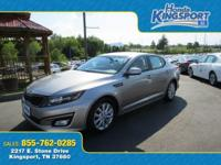 ONE OWNER!!! 2014 Kia Optima EX in Satin Metal Hot