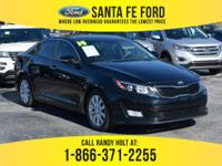 *2014 Kia Optima EX* - Mid size Sedan - I4 2.4L Engine