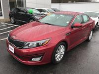 Red 2014 Kia Optima EX FWD 6-Speed Automatic with
