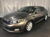 Clean CARFAX. Metal Bronze 2014 Kia Optima EX FWD