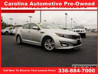 With exceptional quality and value, our Kia Optima EX