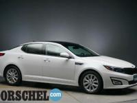 White 2014 Kia Optima EXBluetooth, Hands-Free, Leather,