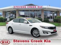 Options:  2014 Kia Optima Ex Sedan|White|4-Cyl 2.4