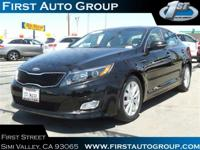 This Kia Optima is Certified Preowned! -Only 30,567