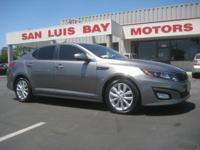 Options:  2014 Kia Optima Ex|Graphite/Beige|V4 2.4 L