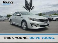 2014 Kia Optima EX. Leather. Sweeping amount of