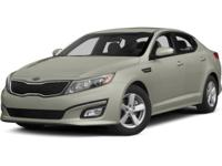 ~~ 2014 Kia Optima EX ~~ CARFAX: 1-Owner, Buy Back