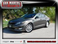 Options:  2014 Kia Optima Ex|Gray/|V4 2.4 L