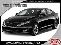 This 2014 Kia Optima EX features a push button start,