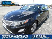 Look at this 2014 Kia Optima Hybrid EX. Its Automatic
