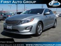 This Kia Optima Hybrid is CERTIFIED! Bluetooth,