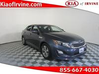 This 2014 Kia Optima Hybrid LX comes with the Coveted