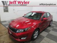 CARFAX One-Owner. Clean CARFAX. Certified. Red 2014 Kia