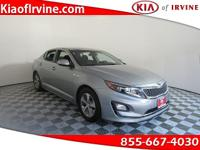This 2014 Kia Optima Hybrid is Kia Certified with a