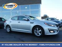 Check out this 2014 Kia Optima LX. Its Automatic