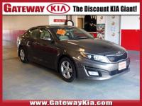 KIA CERTIFIED, SILVER OPTIMA LX HAS BLUETOOTH HANDS