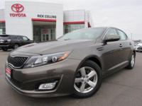 This 2014 Kia Optima comes equipped with back-up