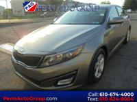 Gray 2014 Kia Optima LX FWD 6-Speed Automatic with