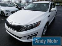 Just Reduced! CARFAX One-Owner. 2014 Kia Optima LX in