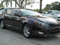 No accidents Clean Carfax. Optima LX, 2.4L I4 DGI DOHC,