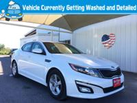 Introducing the 2014 Kia Optima! Very clean and very