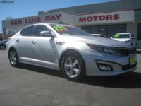 Options:  2014 Kia Optima Lx|Bright Silver