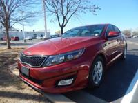 We are excited to offer this 2014 Kia Optima. Drive