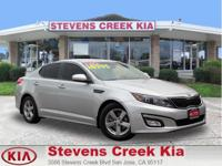 Options:  2014 Kia Optima Lx Sedan|Silver|4-Cyl 2.4