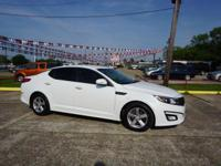 Options:  2014 Kia Optima Lx|This Vehicle Has A 2.4L