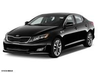 2014 Ebony Black Kia Optima LX Details:  * 150 Point