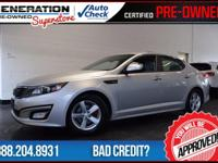 Bright Silver and 2014 Kia Optima. Move quickly!
