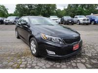 2014 Kia Optima LX Black Priced below KBB Fair Purchase