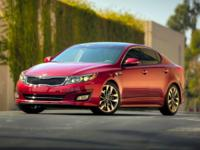 Options:  2014 Kia Optima Sx|Blue|Clean Carfax.