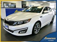 This 1-Owner, low mileage Kia Optima SX has all of the