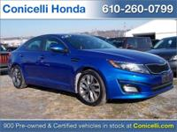 PRICED TO SELL QUICKLY! This one owner, 2014 Kia Optima
