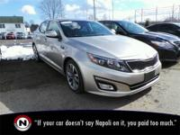 Certified. Silver 2014 Kia Optima SX Turbo FWD