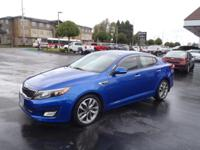 Make sure to get your hands on this 2014 Kia Optima SX