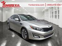 Options:  2014 Kia Optima Sx Turbo|Satin Metal/Black|V4