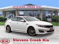 Options:  2014 Kia Optima Limited-Sxl Sedan|White|4-Cyl