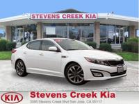 Options:  2014 Kia Optima Sx Turbo Sedan|White|4-Cyl