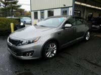 Titanium Silver 2014 Kia Optima SXL Turbo FWD 6-Speed