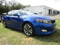 Check out this 2014 Kia Optima SX. Its Automatic