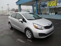 The 2014 Kia Rio has a stylish and inviting cabin and