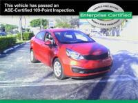 2014 Kia Rio 4dr Sdn Man LX Our Location is: Enterprise