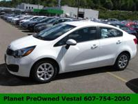 Highly desirable and fun to drive, our 2014 Kia Rio LX